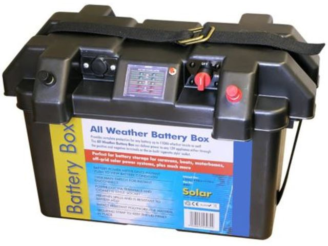 Rs Deluxe Battery Weather Box