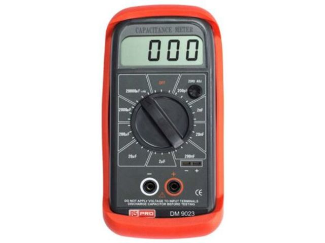 Rscal(1238770) Capacitance Meter,lcd