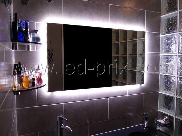ruban led autocollant couleur blanc froid qualit pro avec alimentation lectrique 220 volts. Black Bedroom Furniture Sets. Home Design Ideas