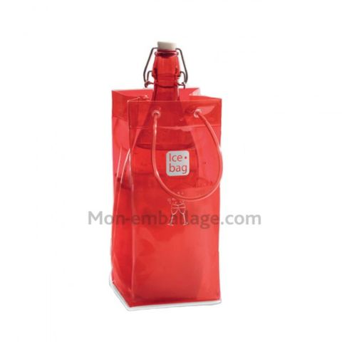 sac gla ons ice bag cerise 11 x 11 x 26 cm a l 39 unit contact mon emballage. Black Bedroom Furniture Sets. Home Design Ideas