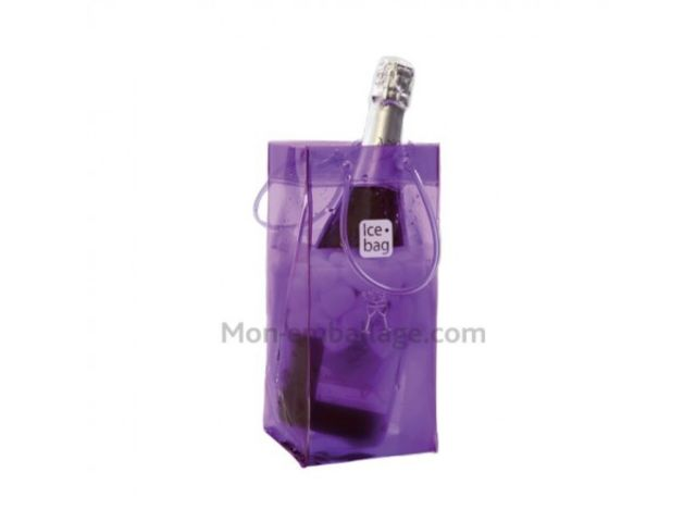 sac gla ons ice bag violet 11 x 11 x 26 cm l 39 unit contact mon emballage. Black Bedroom Furniture Sets. Home Design Ideas