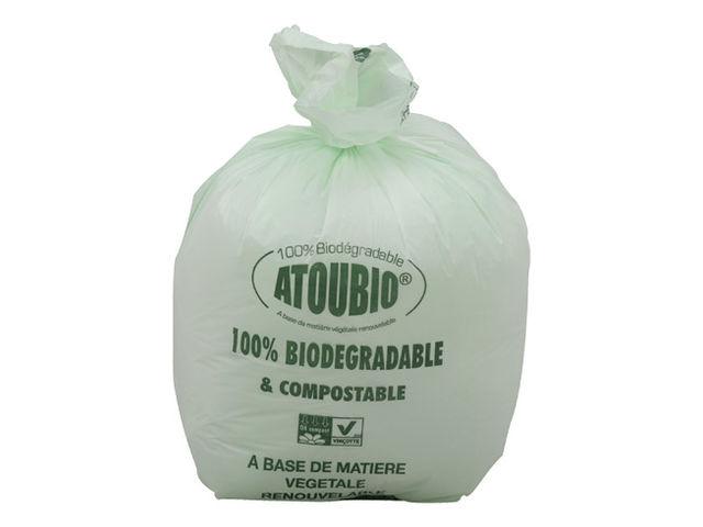 sac poubelle 10 litres biod gradables atoubio carton de 500 contact maxiburo. Black Bedroom Furniture Sets. Home Design Ideas