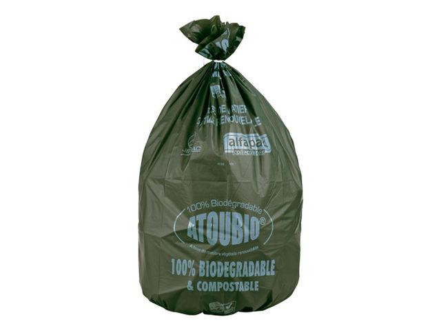 sac poubelle 110 litres biod gradables atoubio carton de 100 contact maxiburo. Black Bedroom Furniture Sets. Home Design Ideas