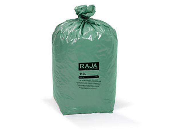 sac poubelle cologique vert raja contact raja. Black Bedroom Furniture Sets. Home Design Ideas