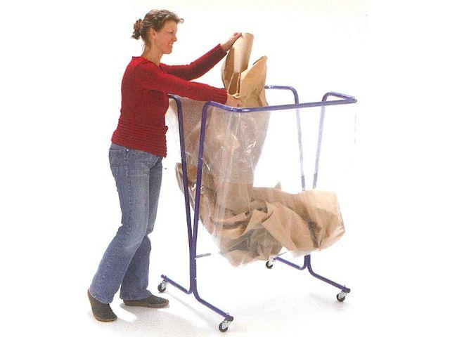 sacs poubelle transparents grand volume 600 litres contact roll co. Black Bedroom Furniture Sets. Home Design Ideas