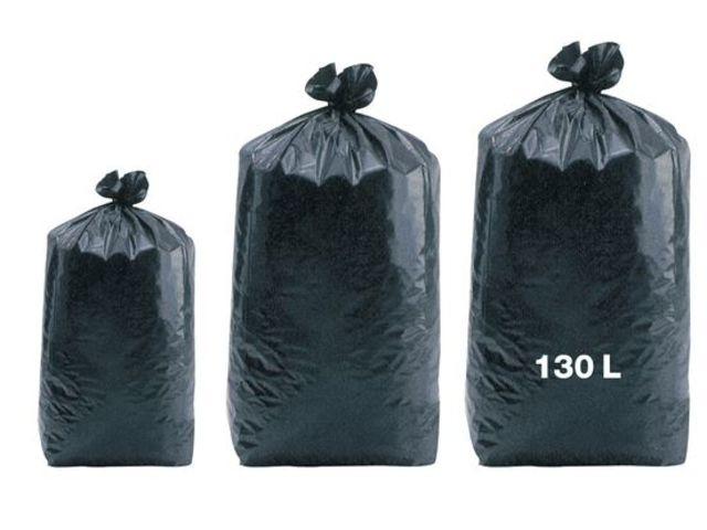 sacs poubelles noirs basse densit 130 litres 55m 100 par colis contact drexco industrie. Black Bedroom Furniture Sets. Home Design Ideas