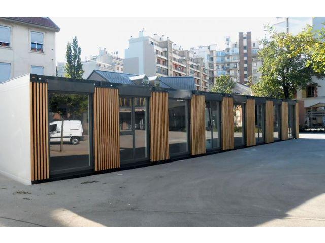 Great salle de classe modulaire prfabrique batiment for Architecture modulaire