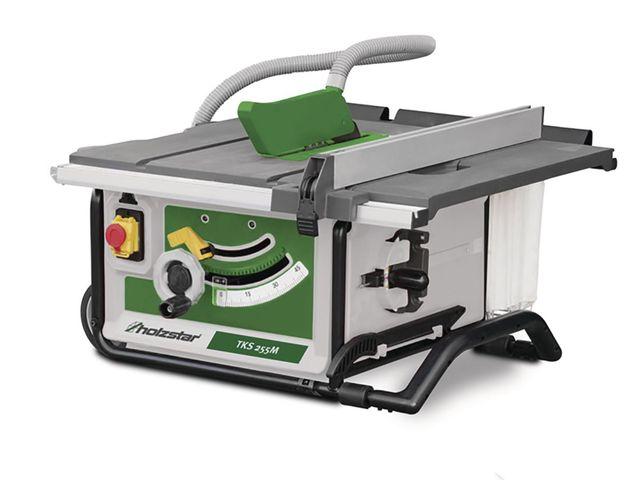 Scie table mobile pour le bois 254 mm holzstar - Table pour scie circulaire portative ...