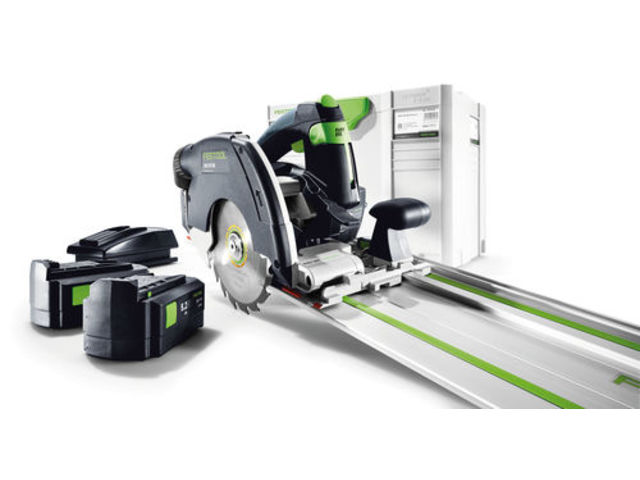 scie circulaire festool capot basculant sans fil hkc 55 eb li plus rail de guidage fsk 420. Black Bedroom Furniture Sets. Home Design Ideas
