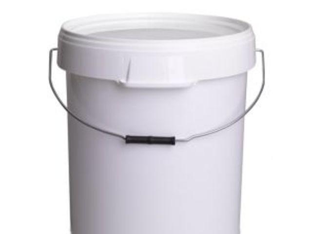 seau avec couvercle 40 litres avec poign es contact jem plastique. Black Bedroom Furniture Sets. Home Design Ideas