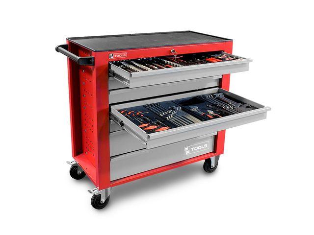 Servante d 39 atelier compl te large 441 outils - Servante d atelier complete ...