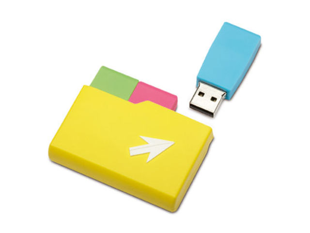 Set de 3 clés mémoire USB SOFT RUBBER 01