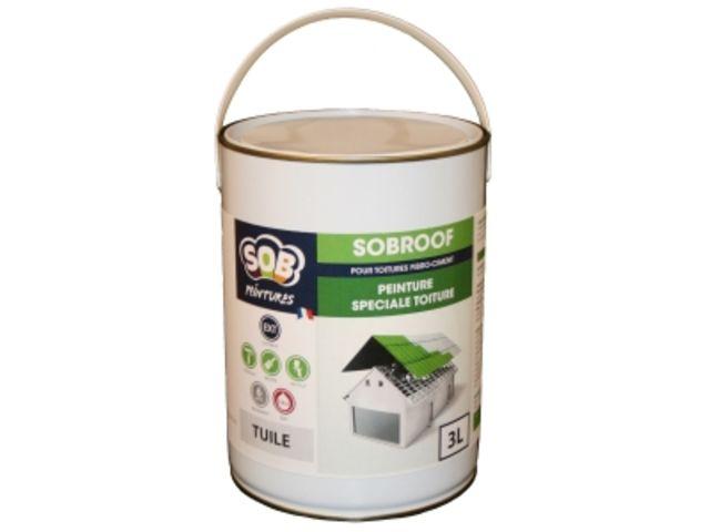 SOBROOF : Peinture pour tuiles et fibro-ciment | Contact PEINTURES SOB