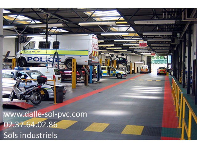 Sol atelier de r paration automobile contact dalle sol for Outillage professionnel garage automobile