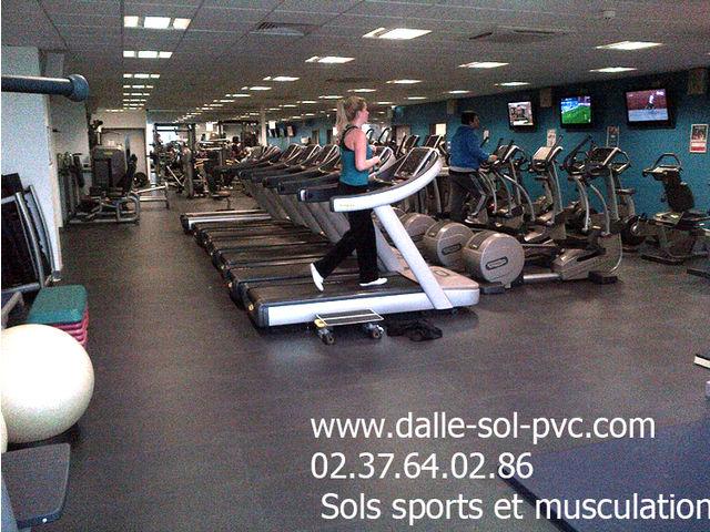 Sol Souple Pvc Salle De Sport Musculation Fitness Contact Dalle