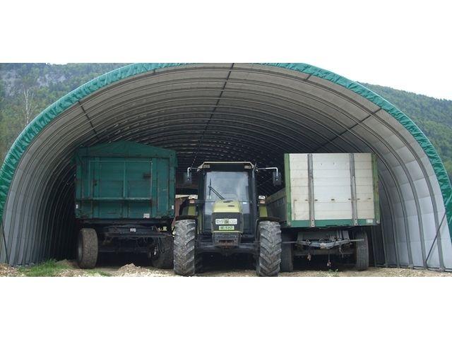 Solution pour le stockage du mat riel agricole tunnel de for Abri de stockage agricole