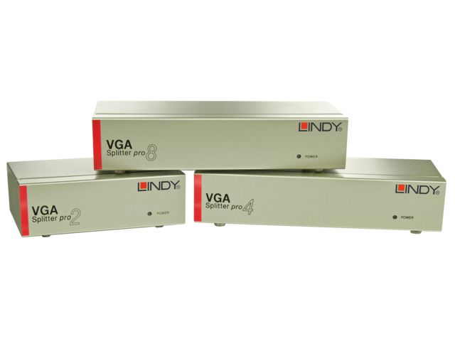 Splitter 4 Ports VGA - LINDY FRANCE