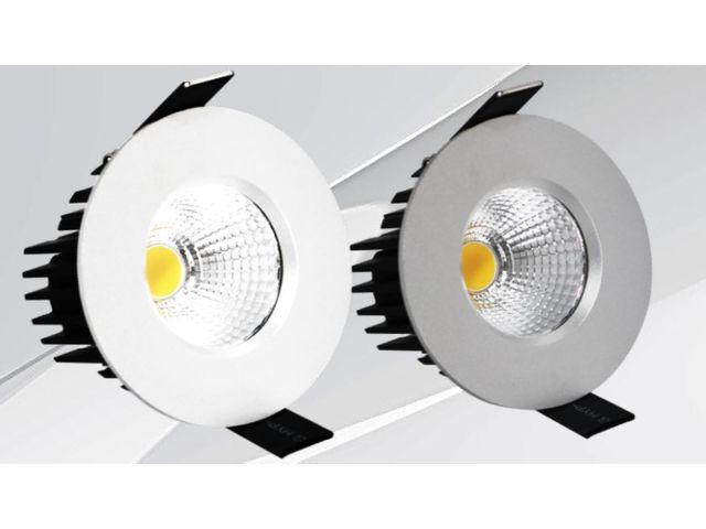 spot cob led 8w ip65 tes8cob4k8si40i65 contact thomson lighting. Black Bedroom Furniture Sets. Home Design Ideas