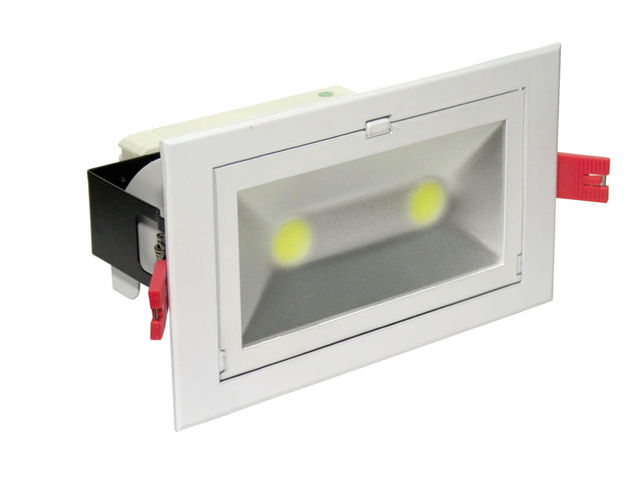 Spot led 60w encastrables de plafond contact ecoled design for Spot encastrable plafond exterieur