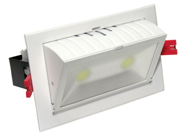 Spot led 60w encastrables de plafond contact ecoled design for Spot exterieur encastrable plafond