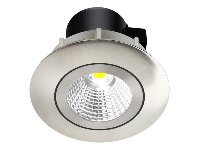 Spot led COB SOLUS 5 watt (eq. 50 watt) Encastrable - Finition - Chromé
