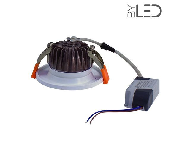 Spot LED encastrable fixe 7W IP64 - BBC - RT2012 – Cobyx_FRANCE LED DIFFUSION - ByLED_3