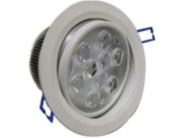 Spot led encastrable orientable plafond 220v 18w blanc for Spot led exterieur 220v