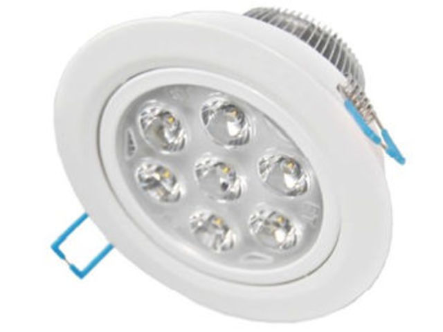 Spot led encastrable plafond 220v 14w blanc chaud for Spot led exterieur 220v