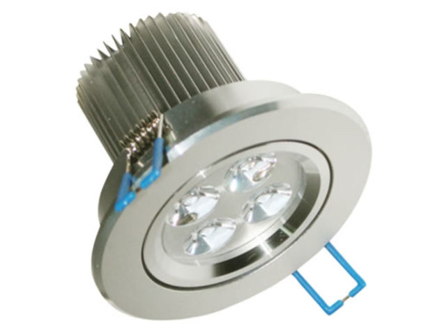 Spot led rond encastrable 5w dimmable blanc chaud led cree for Spot encastrable plafond exterieur