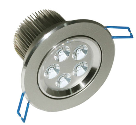 Spot led rond encastrable 9w blanc naturel led osram for Eclairage piscine hors sol sans percage