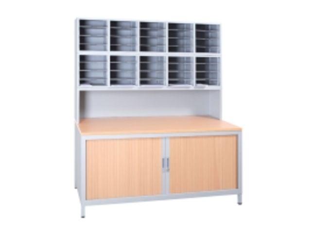 station de tri de courrier contact axess industries. Black Bedroom Furniture Sets. Home Design Ideas
