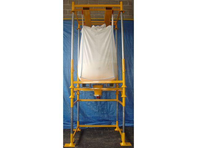 station de vidange pour conteneurs souples big bag g r v s contact kit bag manutention. Black Bedroom Furniture Sets. Home Design Ideas