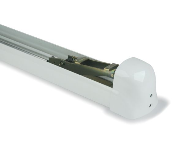 Support central de barre antipanique Panama Push 8240i FAPIM - L.935 mm - blanc 9010 - 8240i_32