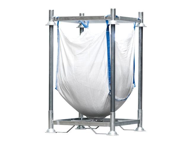 support de stockage pour conteneurs souples big bag g r v s contact manuline. Black Bedroom Furniture Sets. Home Design Ideas