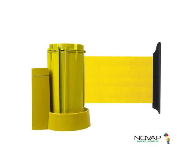 Support mural Jaune avec sangle Jaune  3m x 100mm - 2053631