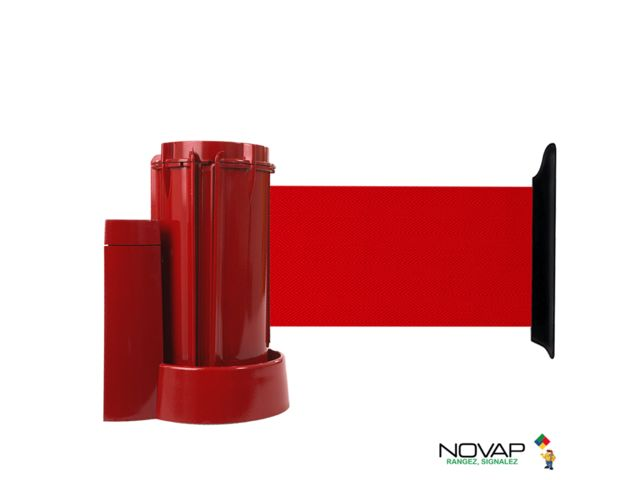Support mural Rouge avec sangle Rouge  3m x 100mm - 2053617