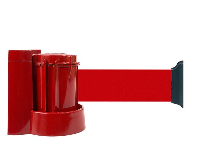 Support mural rouge avec sangle rouge  3m x 50mm - 2053495