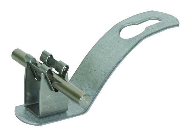 Support pour conducteurs de toiture en plaques ondul es contact dehn france - Plaque ondulee pour toiture ...