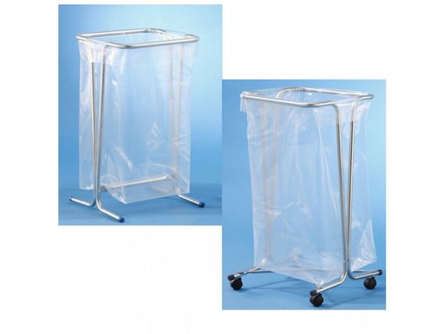 support sac poubelle sur roulettes contact pro signalisation. Black Bedroom Furniture Sets. Home Design Ideas