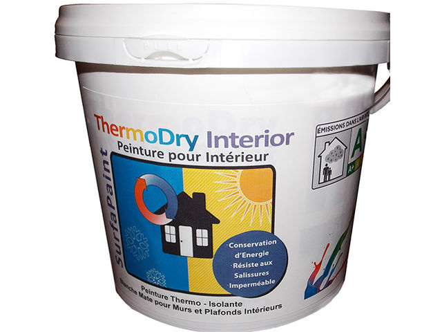 surfapaint thermodry interior peinture acrylique. Black Bedroom Furniture Sets. Home Design Ideas
