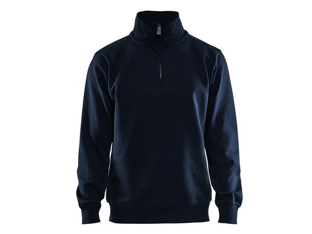 Sweat shirt col camionneur