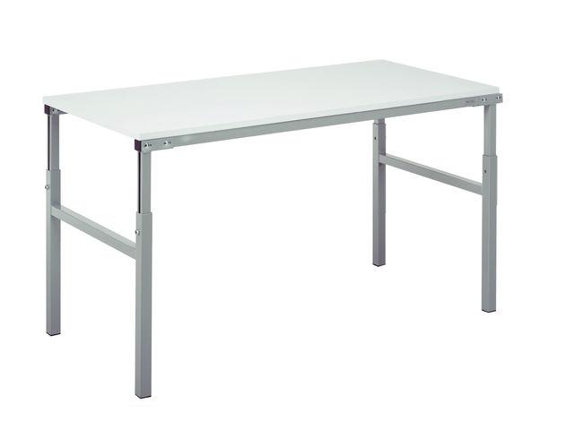 table atelier r glable en hauteur 150x50 contact setam. Black Bedroom Furniture Sets. Home Design Ideas