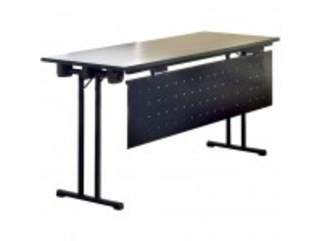 Table Conference Pliante Plateau Stratifie 140 X 60 Cm Contact