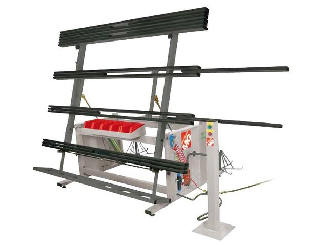 table d assemblage de profil s aluminium pvc b 4000 hv contact pro dis. Black Bedroom Furniture Sets. Home Design Ideas