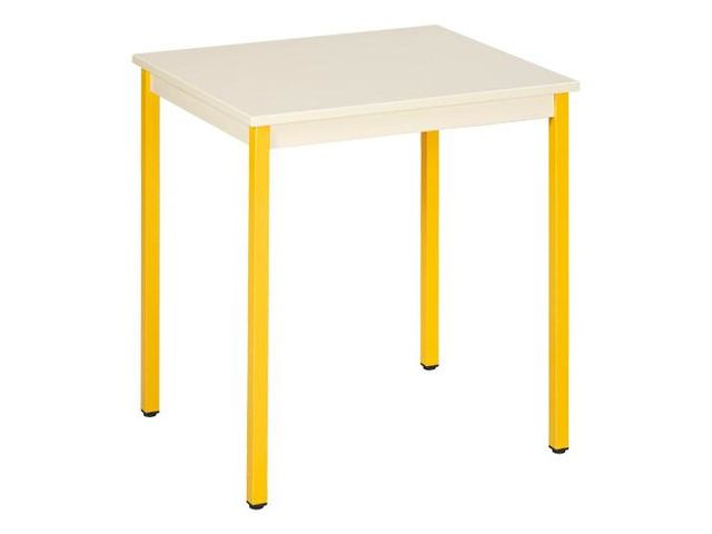 Table de bureau multiusages co beige 70 x 60 cm Contact MAXIBURO