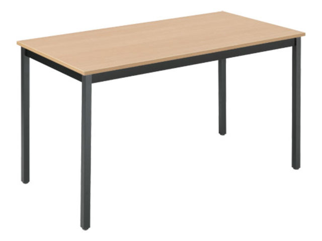 Table de bureau multi usages co h tre 130 x 65 cm for Bureau 130 cm