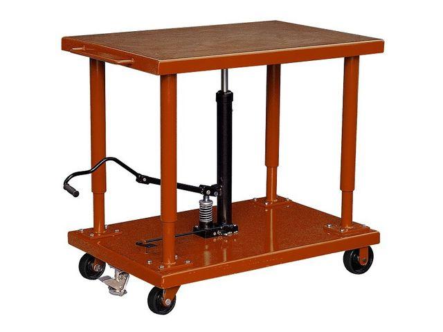 Table de mise niveau hydraulique 1800kg contact roll co - Table verin hydraulique ...