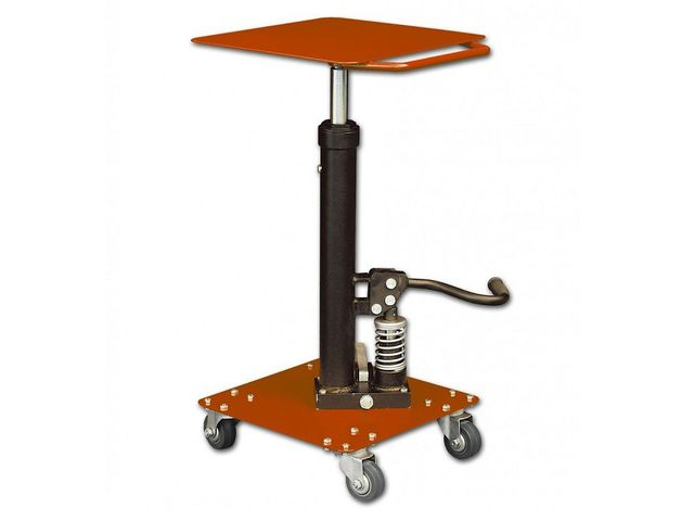 Table de mise niveau hydraulique 90kg contact roll co - Table verin hydraulique ...