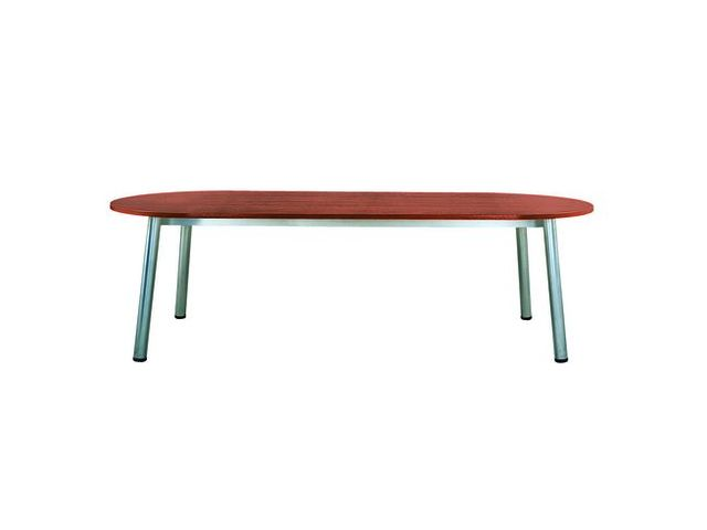 Table de réunion Design - plateau ovale 240 x 102 cm - MAXIBURO