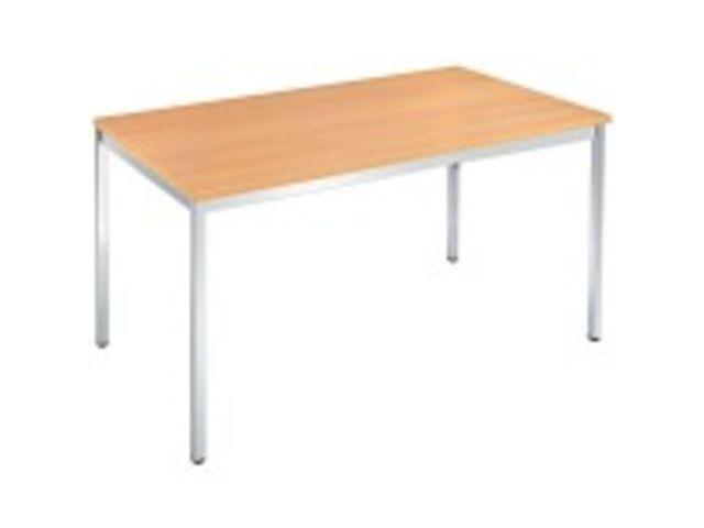 Table de r union rectangulaire 140 x 70 cm contact for Table 140 x 70